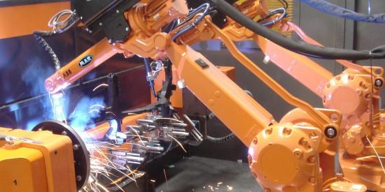 Robotic-dual-welding